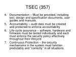 tsec 357