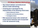 ffc mirpur mathelo methodology