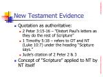 new testament evidence21