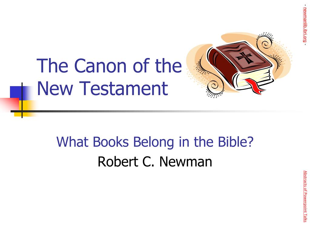 the canon of the new testament l.