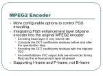mpeg2 encoder