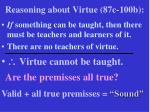 reasoning about virtue 87c 100b18