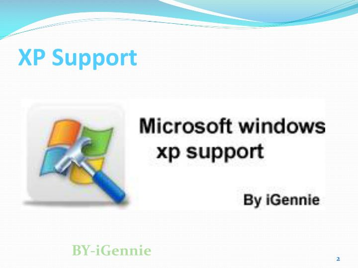 Xp support2