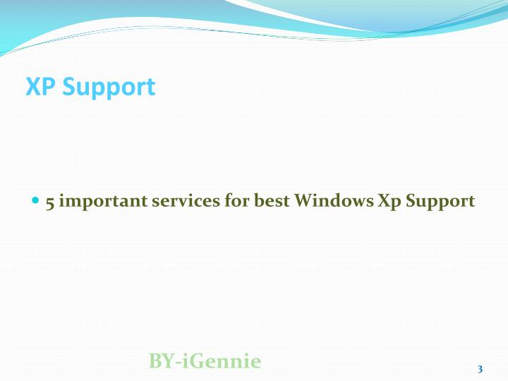 Xp support3