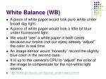 white balance wb