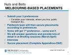 nuts and bolts melbourne based placements11