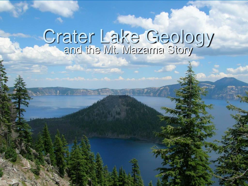 crater lake geology l.
