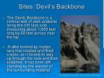 sites devil s backbone