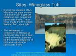 sites wineglass tuff