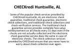 checkredi huntsville al4