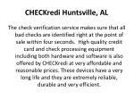 checkredi huntsville al5