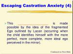 escaping castration anxiety 4