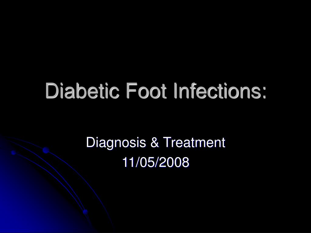 diabetic foot infections l.