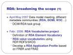 rda broadening the scope 1