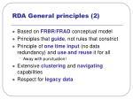 rda general principles 2