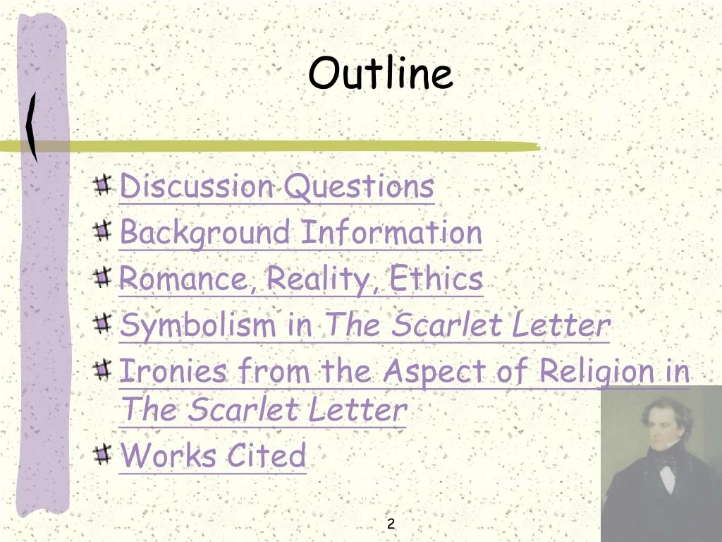 Information O Romance Reality Ethics Symbolism In The Scarlet Letter Ironies From Aspect Of Religion Works Cited 2