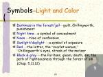 symbols light and color