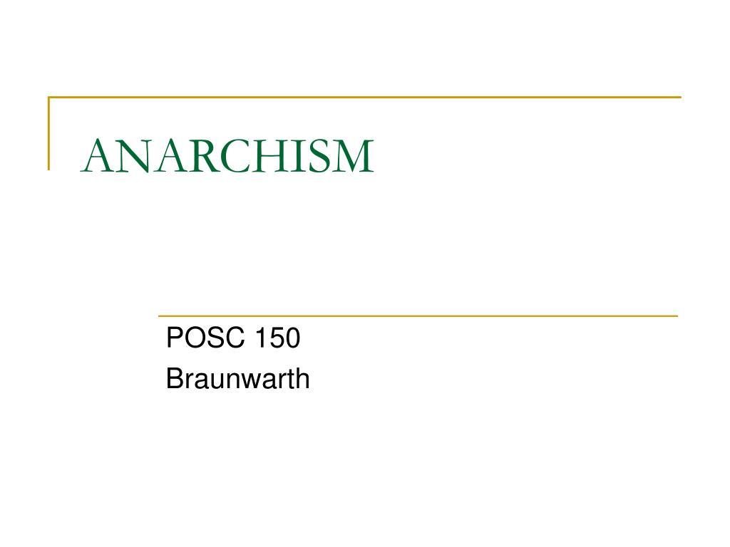 anarchism l.