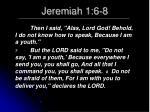 jeremiah 1 6 845