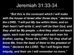 jeremiah 31 33 34