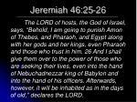 jeremiah 46 25 26