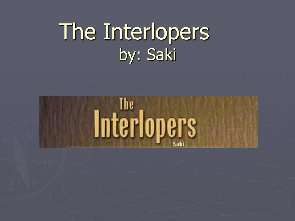 the interlopers analysis