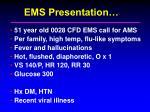ems presentation