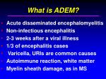 what is adem
