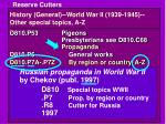 history general world war ii 1939 1945 other special topics a z