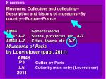 museums collectors and collecting description and history of museums by country europe france