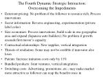 the fourth dynamic strategic interaction overcoming the impediments