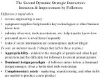 the second dynamic strategic interaction imitation improvement by followers