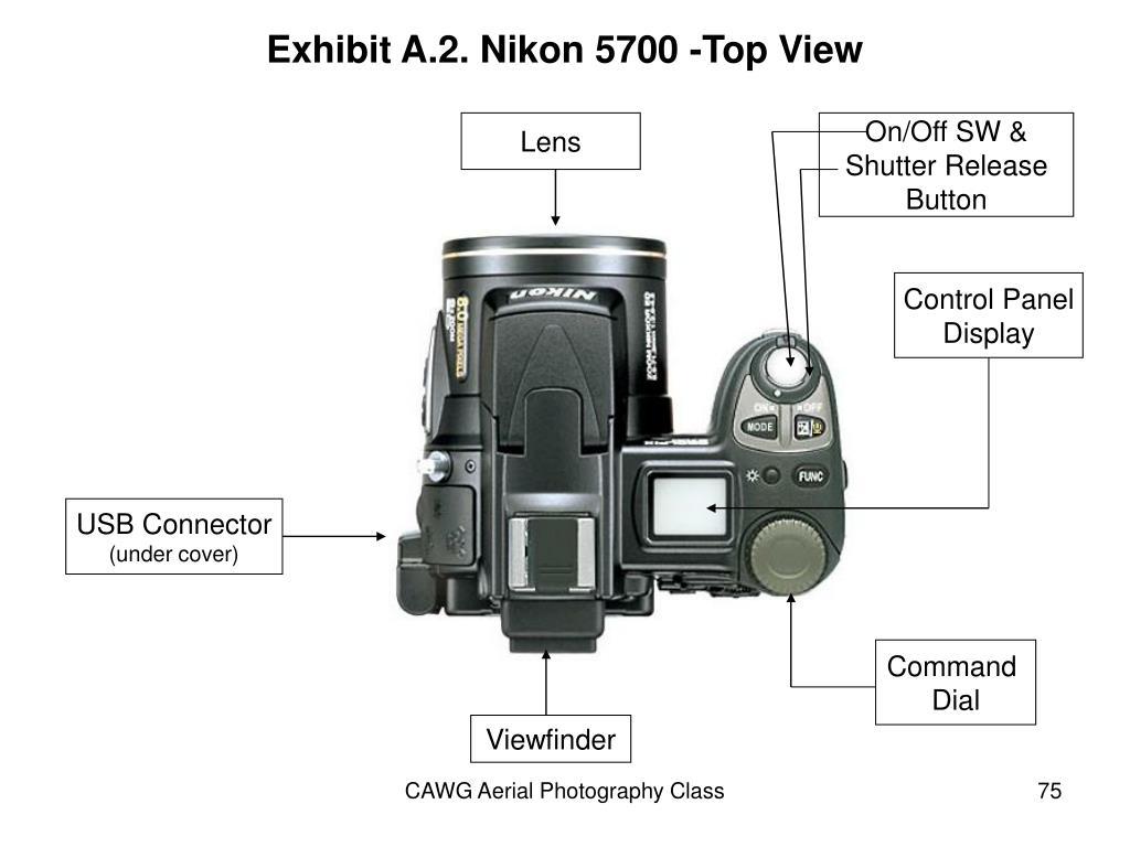 Exhibit A.2. Nikon 5700 -Top View