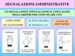 segnalazioni amministrative