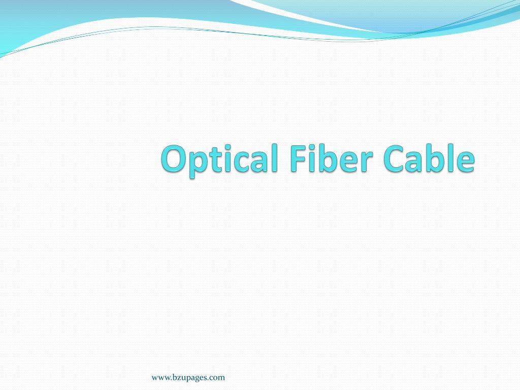 optical fiber cable l.