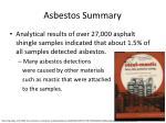 asbestos summary29