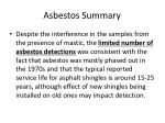 asbestos summary30