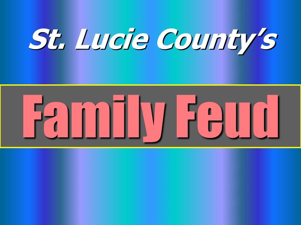 family feud l.