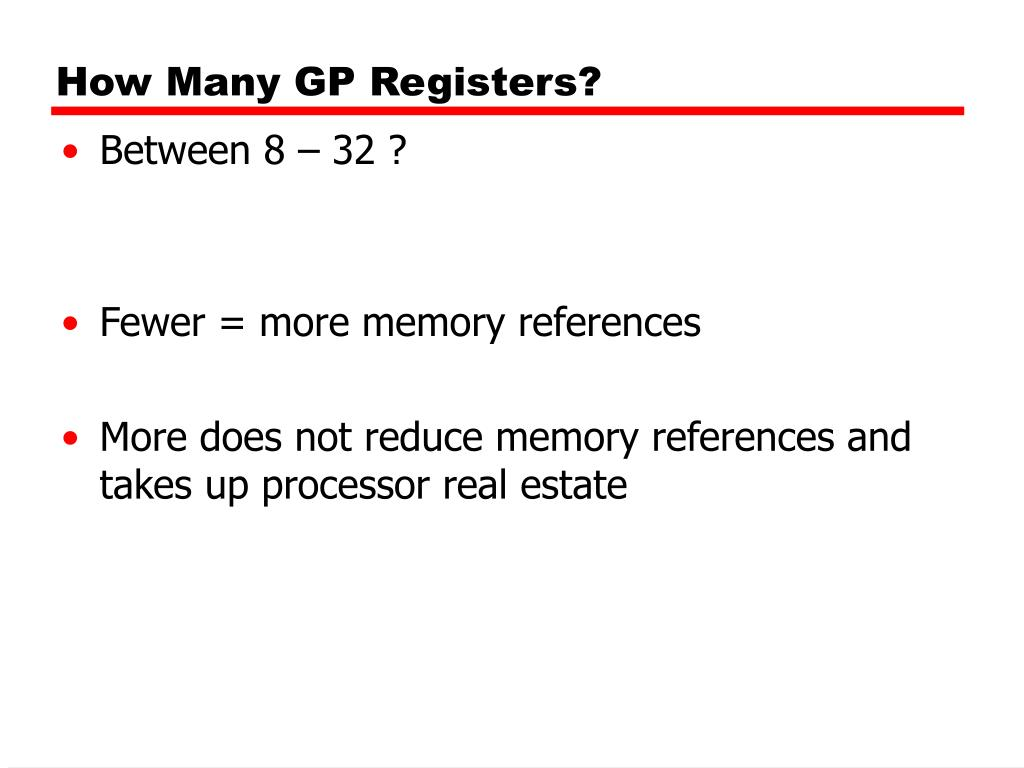 How Many GP Registers?