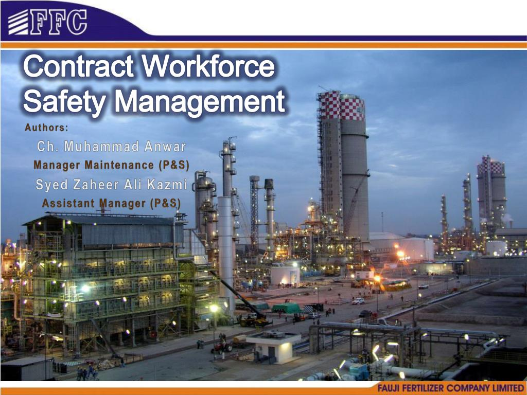 contract workforce safety management l.