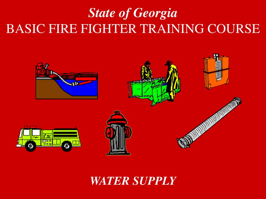state of georgia basic fire fighter training course l.