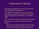 cybercrime in taiwan