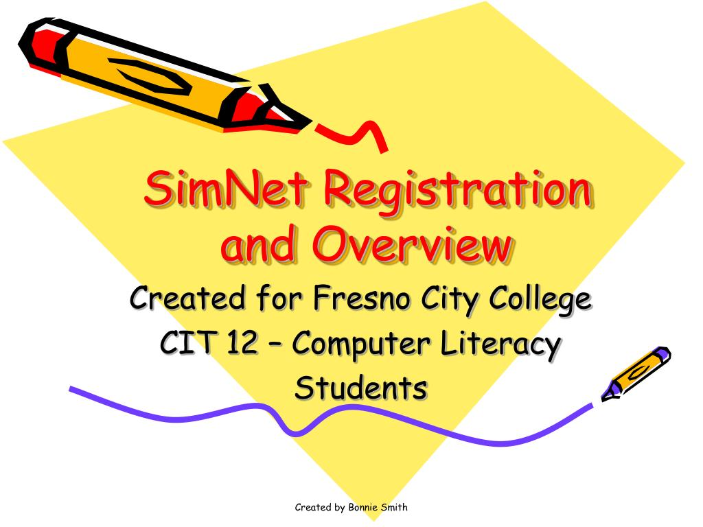 simnet registration and overview l.