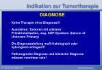 indikation zur tumortherapie42