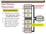 data memory organization