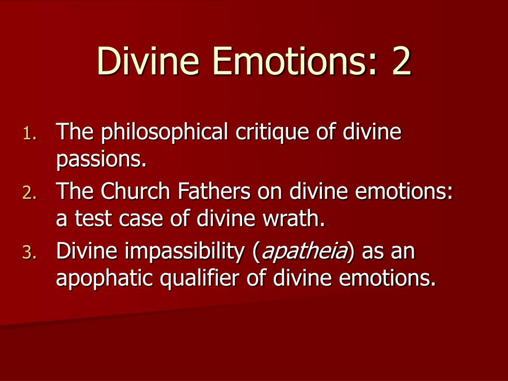 divine emotions 2 l.