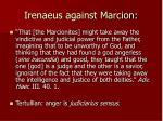 irenaeus against marcion