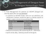 fluid management of dengue fever dengue hemorrhagic fever