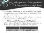 fluid management of dengue fever dengue hemorrhagic fever2