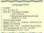 language point25